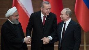 Türkiyə, Rusiya və İran prezidentləri yenidən bir araya gəlir
