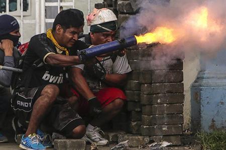 Nikaraquada etiraz aksiyası zamanı ölənlərin sayı 154 nəfərə çatıb