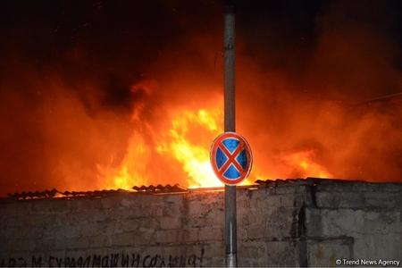 Siyəzən rayonunda ev yanıb