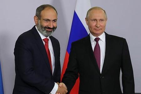"""Paşinyan Putinin """"ürəyinə"""" yol axtarır –"""