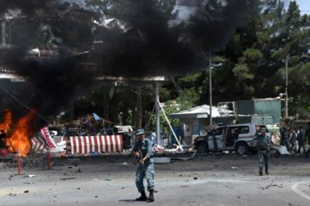 Əfqanıstanda bazarda partlayış törədilib, azı 20 hərbçi ölüb