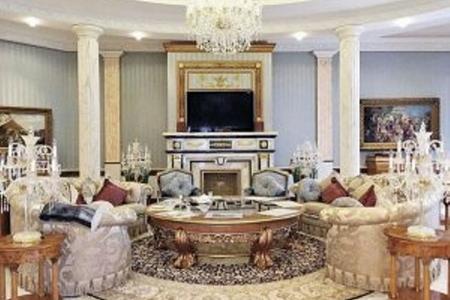 Nazir Şahovun evi: lap şah sarayı kimi... - FOTOLAR