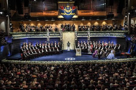 Stokholmda Nobel mükafatı laureatları təltif edilib