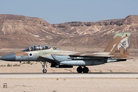 İsrail aviasiyası Suriyaya zərbə endirib