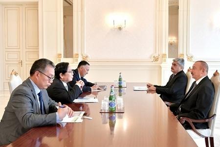 Prezident İlham Əliyev Asiya İnkişaf Bankının vitse-prezidentini qəbul edib