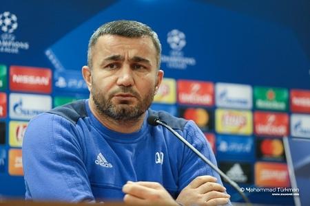"""Qurban Qurbanov: """"Bütün futbolçularıma güvənirəm"""" - FOTOLAR"""