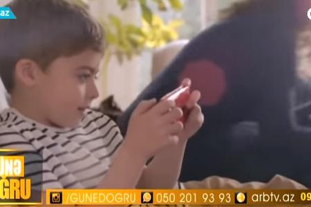Smartfonlar uşaqların psixologiyasına ZƏRƏRLİDİR – VİDEO