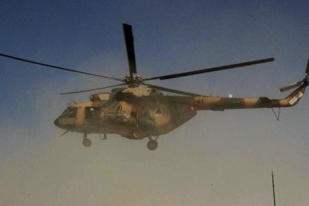 Əfqanıstanda hərbi helikopter sərt eniş edib, ölən və yaralananlar var