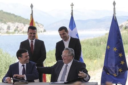 Afina və Skopye Makedoniyanın yeni adı barədə saziş imzalayıb