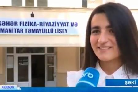 """""""Hədəflərim yüksəkdir"""" – Repetitor yanına getmədən 700 bal toplayan Nərmin– VİDEO"""