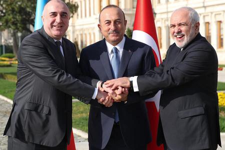 3 ölkənin xarici işlər nazirləri İstanbul Bəyannaməsini imzaladılar