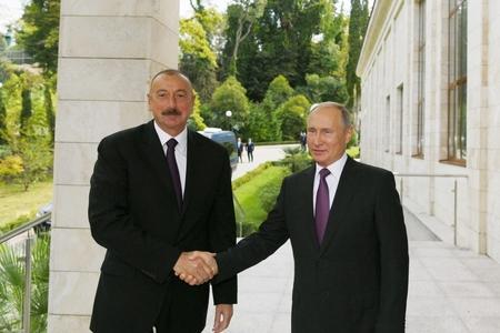 Prezident İlham Əliyev və Prezident Vladimir Putinin görüşü olub