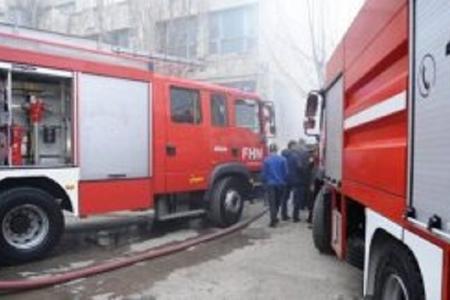 Sumqayıtda binada yanğın həyəcanı: 8 nəfər təxliyə olundu