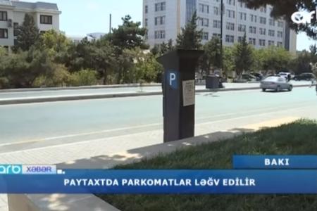 Paytaxtda parkomatlar ləğv edilir – VİDEO
