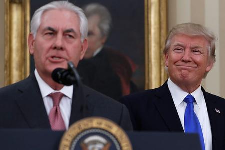 Tramp Tillersonu işdən çıxardı