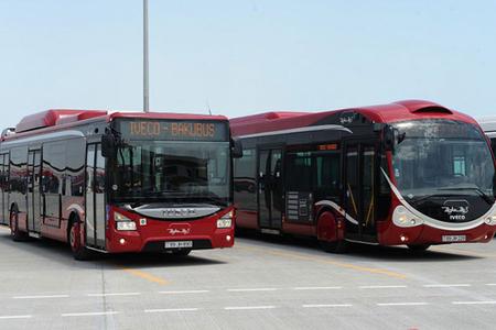 Bakıda üç avtobusun yolu dəyişdirildi