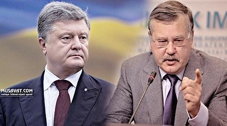 Ukraynanın keçmiş müdafiə naziri Poroşenkonu siyasi qətllərdə ittiham etdi