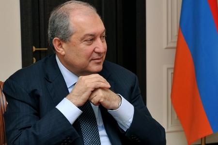 Ermənistan Prezidenti Şuşaya gəlib