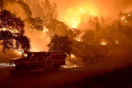 Kaliforniyadakı yanğınlar külli miqdarda maddi ziyan vurub