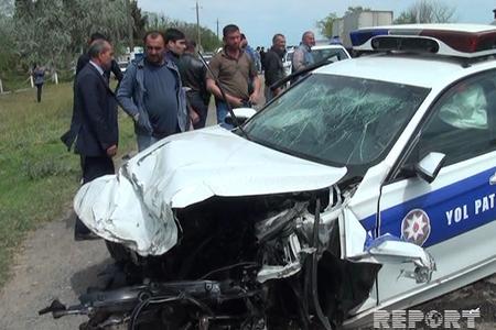 Salyanda YPX maşını qəza törədib, 2 nəfər ölüb