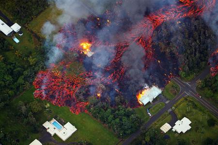 Havay adalarında lava partlaması nəticəsində 20-dən çox adam xəsarət alıb