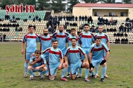 Dünyada 10 nəfərdən ibarət yeganə futbol komandası Şəkidədir