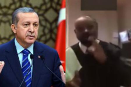İngilis mühafizəçi Ərdoğan üçün Quran oxudu – VİDEO