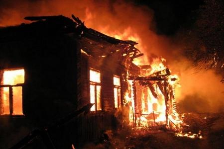 Masallıda yaşayış evi yanıb