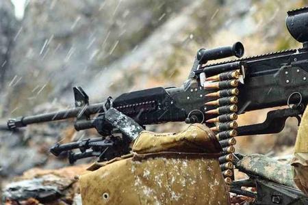 Ermənilər Azərbaycan ordusunun mövqelərini iriçaplı pulemyotlardan atəşə tutub