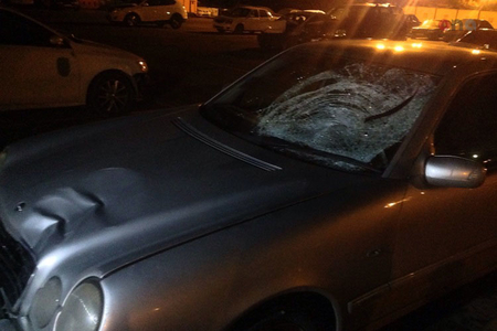 Bakıda 22 yaşlı gənci avtomobil vurub