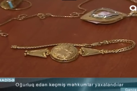 7 ev və 2 avtomobildən oğurluq edən keçmiş məhkum saxlanıldı - VİDEO
