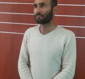 Havaya atəş açıb qaçan şəxs polis əməkdaşları tərəfindən tutuldu