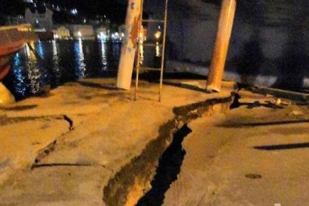 Yunanıstanın Zakinf adasında baş verən zəlzələ dağıntı törədib