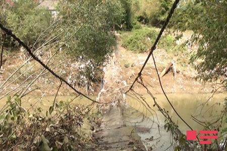 Sel suları Astarada üç körpünü qəzalı vəziyyətə salıb