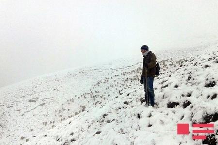 Qubanın dağlıq ərazilərinə 28 sm hündürlüyündə qar yağıb