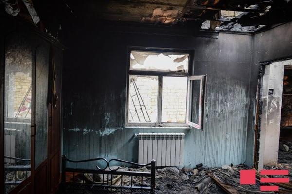 Xırdalanda ev yanıb, azyaşlı uşaq tüstüdən boğularaq ölüb
