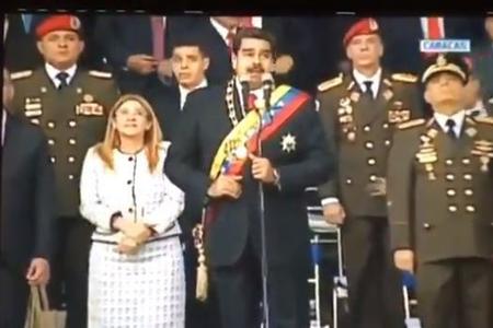 Venesuela prezidentinə qarşı sui-qəsd oldu - VİDEO