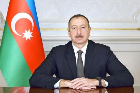 """Prezident İlham Əliyev """"Tufan""""la tanış oldu"""