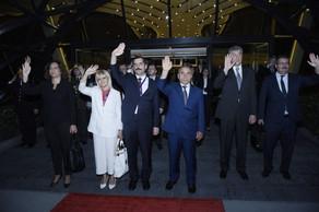 Türkiyə dövlət başçısının Azərbaycana rəsmi səfəri başa çatıb
