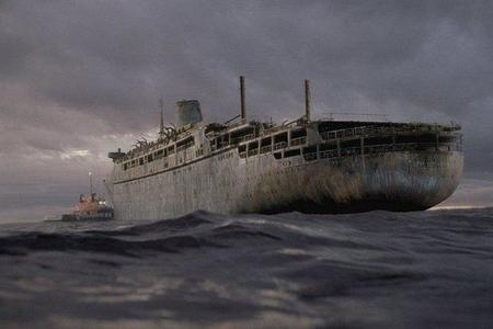 Balıqçılar 9 il əvvəl müəmmalı şəkildə itmiş nəhəng gəmiyə rast gəldilər - Foto