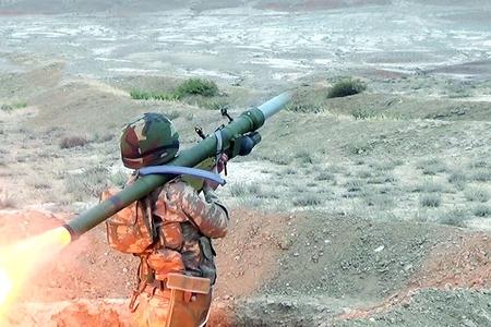 Azərbaycan ordusunun HHM bölmələri döyüş atışları icra edib - VİDEO