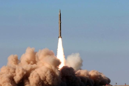 İran raketinin İsraildə yaratdığı panika - Video
