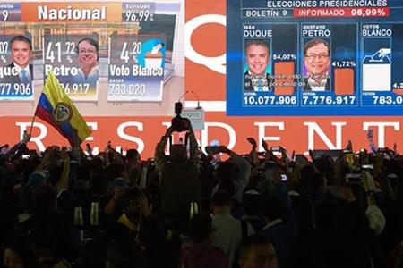 Kolumbiyada prezident seçkilərinin nəticəsi açıqlandı