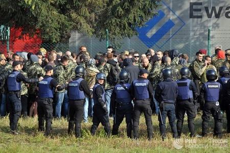 Saakaşvili ilə əlaqədar Polşa-Ukrayna sərhədi bağlanıb