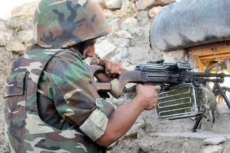 Ermənistan silahlıları atəşkəs rejimini 98 dəfə pozub