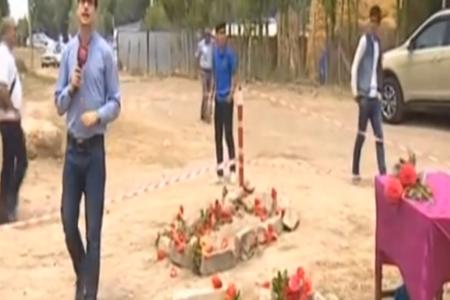 TRT 1 Alxanlıdan reportaj hazırladı - VİDEO