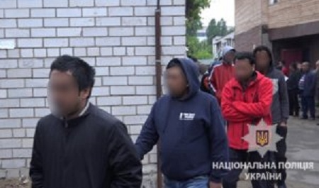Kiyevdə 20 azərbaycanlı miqrant saxlanıldı