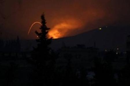 İran hərbi bazasına yeni raket zərbələri