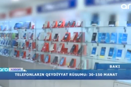 """""""Bizə bu heç sərf etmir, bahadır"""" – Telefonlara tətbiq olunan rüsumun səbəbləri – VİDEO"""