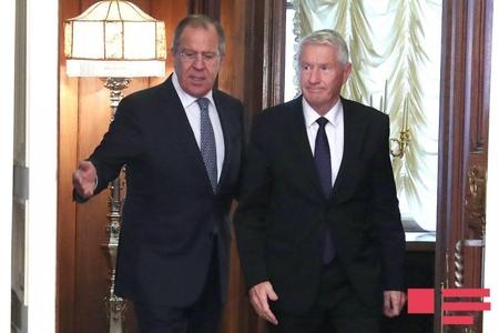 Sergey Lavrov Avropa Şurasının baş katibi ilə görüşüb
